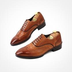 85211 HM-KS026 Shoes (Tan Brown)