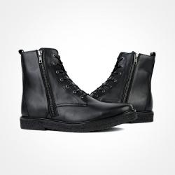86115 PI 지퍼라인 프리머엄 슈즈 (Black)