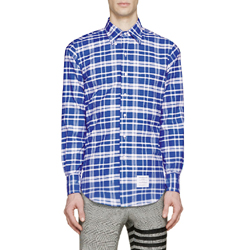 91578 버킹엄 체크 셔츠 (Blue/2Type)