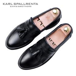 - KARL SPALLRENTA - 93155 태슬 프리미엄 슈즈 (Black)