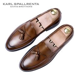 - KARL SPALLRENTA - 93160 태슬꼬임 프리미엄 슈즈 (Brown)