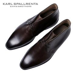 - KARL SPALLRENTA - 93188 데저트 부츠 (Dark Brown)