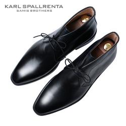 - KARL SPALLRENTA - 93189 데저트 부츠 (Black)