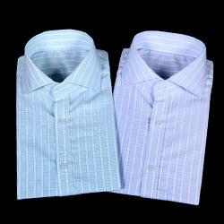 75057 프리미엄 스포티브 클래식 체크 셔츠 (2Color)