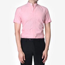 84881 No.31-A 프리미엄 베이직 차이나 1/2 셔츠 (Pink)