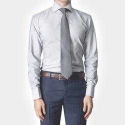 86036 No.39-a 프리미엄 스트라이프 커프스 셔츠 (Gray)