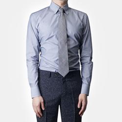 87409 No.57-a 프리미엄 스트라이프 셔츠 (Gray)
