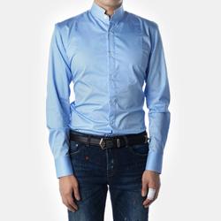 87574 No.58-a 프리미엄 차이나 셔츠 (Blue)