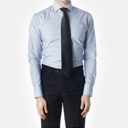 89007 No.79-A 프리미엄 스트라이프 셔츠 (Blue)