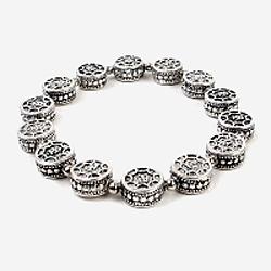 91632 메탈 팔찌 (Silver)