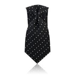 91950 도트 8.1cm 넥타이 (Black)