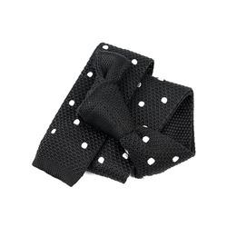 91969 도트 6cm 니트 넥타이 (Black)