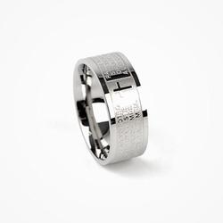 54643 영문 레터링 슬림 링 (Silver)