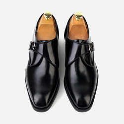 93528 프리미엄 몽크 스트랩 슈즈 (Black)