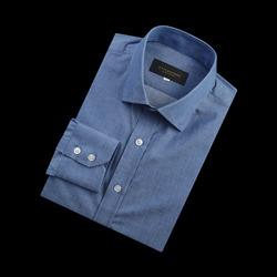 96660 프리미엄 베이직 셔츠 (Blue)