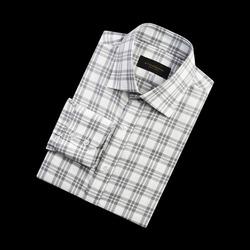 96664 프리미엄 체크 셔츠 (Oatmeal)