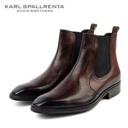 - KARL SPALLRENTA - 97026 프리미엄 첼시부츠 (Brown)