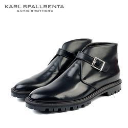 - KARL SPALLRENTA - 97143 스트랩 프리미엄 부츠 (Black)