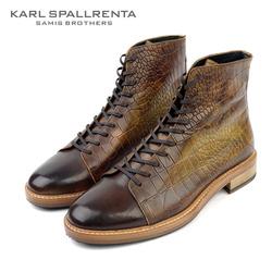 - KARL SPALLRENTA - 97145 프리미엄 부츠 (Brown)