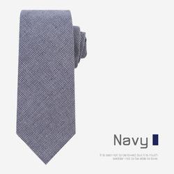 97322 하운드투스체크 8cm 넥타이 (Navy)