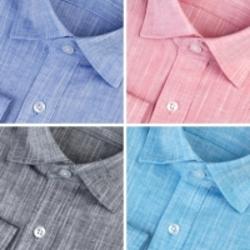 92154 No.01-B 린넨 기본 셔츠 (5Color)