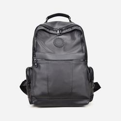 98636 미니멀리즘 라인 백팩 (Black)