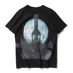 98866 GI 쉐도우 마리아 하프 티셔츠 (Black)