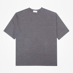 98885 베이직 슬라브 하프 티셔츠 (3Color)