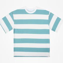 98887 엠보 보더 하프 티셔츠 (3Color)