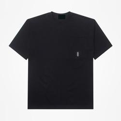 99373 오버핏 아일렛 포켓 하프 티셔츠 (3Color)