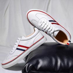 99599 베이직 트리플라인 테이핑 스니커즈 (White)
