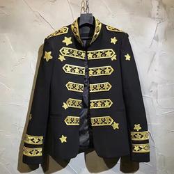 99781 스타자수 나폴레옹라인 자켓 (Black)