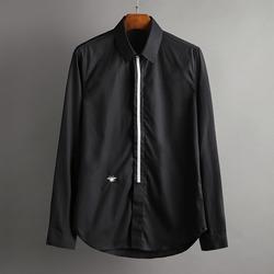 100365 DI 미니멀라인 히든버튼 셔츠 (2Color)