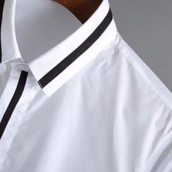 100510 DI 미니멀라인 하프 셔츠 (2Color)