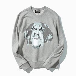 101272 GI 빈티지라인 맨투맨 티셔츠 (Gray)