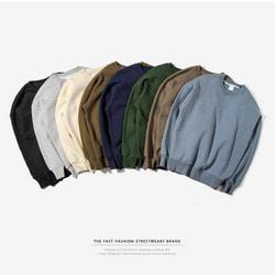101379 데일리라인 오버핏 맨투맨 티셔츠 (7Type)