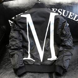 102687 로프 믹스 MA-1 점퍼 (Black)