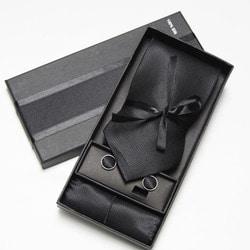 103012 엠보스 실크 패브릭 넥타이 (4Color)