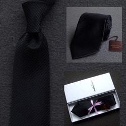 103038 마르코 사선스트라이프 넥타이 (Black)