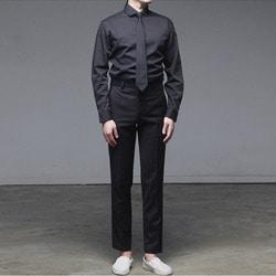 102240 와이드카라 드레스 셔츠 (2Color)