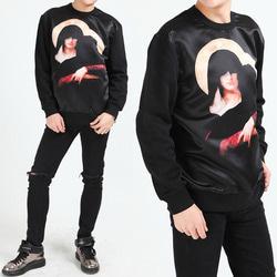 102750 릴리젼 루즈핏 맨투맨 티셔츠 (Black)