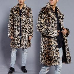 103119 클루도 레오파드 퍼 코트 (Leopard)