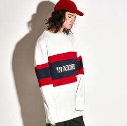 104210 트리플 배색 오버핏 티셔츠 (2Color)