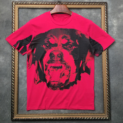 104989 GI 모노 로트와일러 하프 티셔츠 (Pink)
