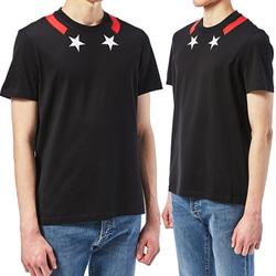 104991 GI 넥라인 포인트 하프 티셔츠 (2Color)