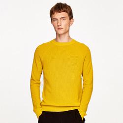 105021 트롤리 미니멀 니트 (Mustard)