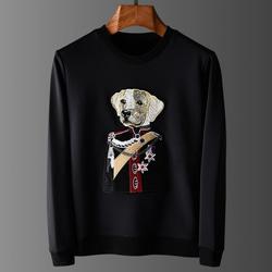 105023 DO 제너럴독 맨투맨 티셔츠 (Black)