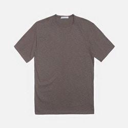 104950 실켓 피그먼트 하프 티셔츠 (4Color)