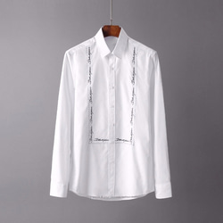 105114 DO 네이밍 자수 셔츠 (White)