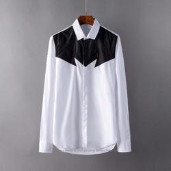 105133 NE 시메트릭 쉐도우 히든버튼 셔츠 (White)